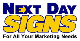 Next Day Signs Tampa Logo